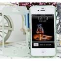iPhone 4/4S Flip-cover i silikon