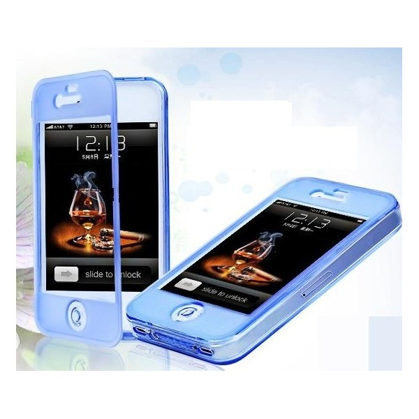 iPhone 5 5S Flip-cover i silikon - e-ville.com 39538ec61142c