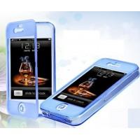 iPhone 5C flip-cover suojakuori on valmistettu kestävästä, mutta pehmeästä silikonista. Napakasti istuva silikonikuori flip-coverilla suojaa puhelintasi naarmuilta ja lialta niin edestä, takaa kuin reunoistakin.