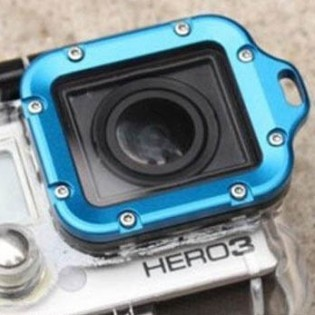 GoPro HD Hero3 -linssinreunus - Sininen