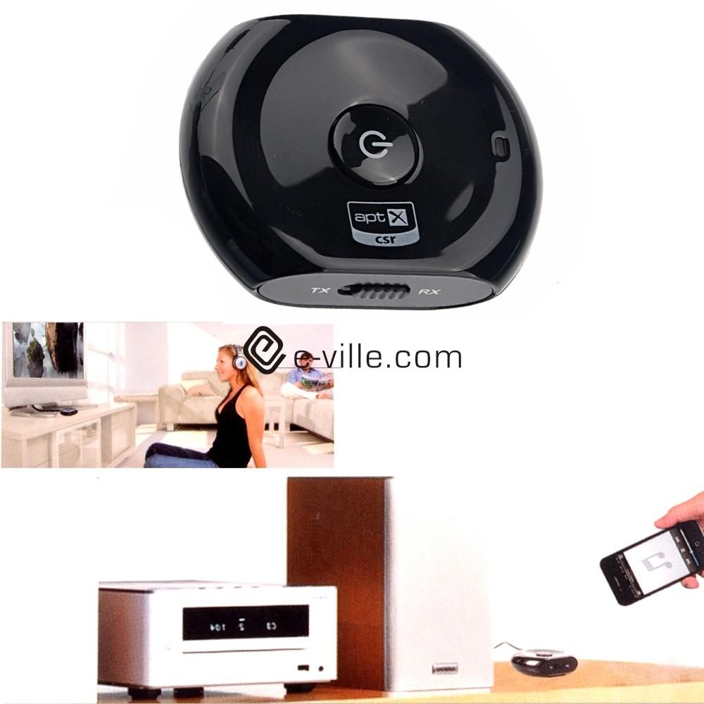 Bluetooth audiolähetin ja vastaanotin
