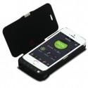 Akkusuojakuori iPhone 5 / 5S -puhelimelle, 4000mAh