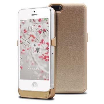 iPhone 5/5S batteriskyddskal 2400mAh