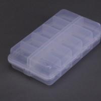 Förvaringslåda för dina flugor, drag, krokar och andra små fiskeprylar.