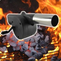 Barbeque air blower