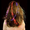 LED-fiber Hårspänne