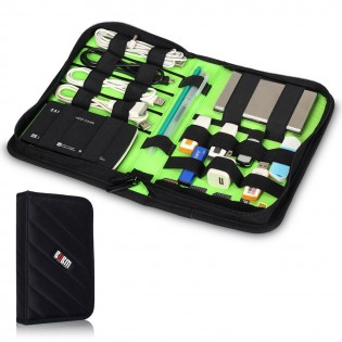 Elektroniikan säilytyslaukku - Musta-S