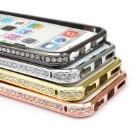 Ge din iPhone en vacker och skyddande ram i metall med diamanter, den förtjänar det!