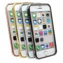 iPhone 5/5S skyddande ram i metall med diamanter