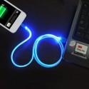iPhone Lightning LED-kabel 100cm