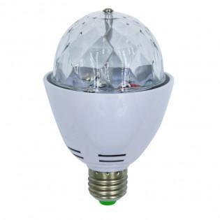 Värikäs LED-lamppu