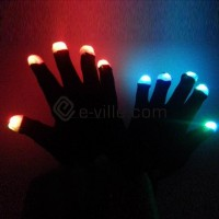 LED-fingervantar