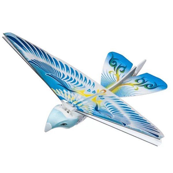 Radiostyrd flaxande fågel