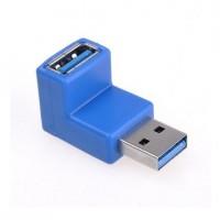 Tällä adapterilla teet USB 3.0 -kaapelin liittämisen helpommaksi ahtaisiin paikkoihin rikkomatta kaapeleita tai käsiäsiä. Kaapelit ovat monesti hankala kytkeä kiinni ja ottaa pois ilman tällaista adapteria.