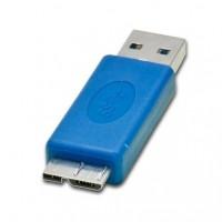 USB 3.0 uros -adapteri, joka muuttaa kaapelin micro USB 3.0 kaapeliksi tai toisin päin.