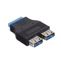 19 pin - USB 3.0 x 2 adapter