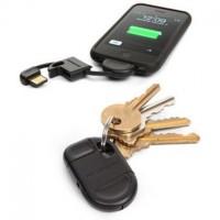 Kuinka monesti sinulla on ollut akku loppumassa etkä ole voinut ladata puhelintasi, sillä kaapelia ei ole ollut lähettyvillä? Tämä avaimenperään kiinnitettävä Applen 30-pin - USB kaapeli ratkaisee ongelman nyt ja tulevaisuudessa.