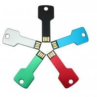 USB-minnepinne nyckeln är gjord i kraftig aluminium och håller för påfrestningar och stötar, precis som en minnepinne ämnad för nyckelknippan bör göra!