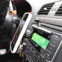 Car CD-drive mobile holder