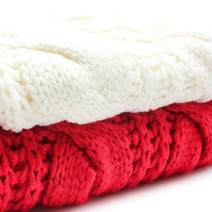 Varm och mysig halsduk