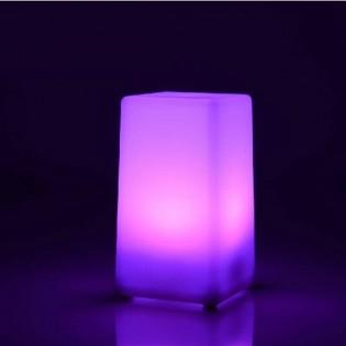 LED-pöytävalo neliskanttinen - Valkoinen