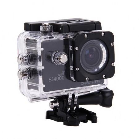 SJCAM SJ4000 WiFi HD Action-kamera 12MP - Musta, 0 kpl