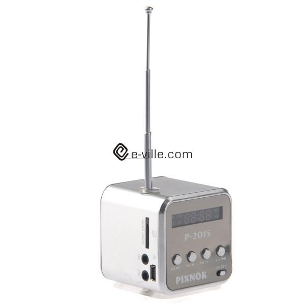 Pieni matkaradio FM MP3 tuella  e ville com