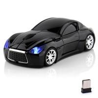 Upea sporttiauton näköinen langatonhiiri tietokoneellesi. Automaisessa tietokonehiiressä on kaksinäppäintä, sekä rullanäppäin. Hiiren tarkkuus on 1600DPI, mikä soveltuu hyvin jokapäiväiseen käyttöön.