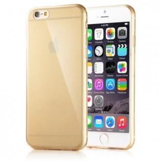 Läpinäkyvä iPhone 6+ suojakuori - Harmaa
