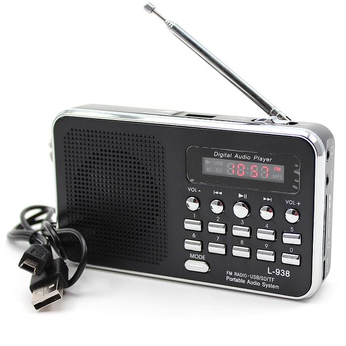 Matkaradio MP3 tuella