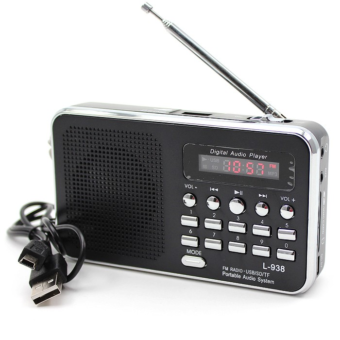 Mini reseradio med MP3
