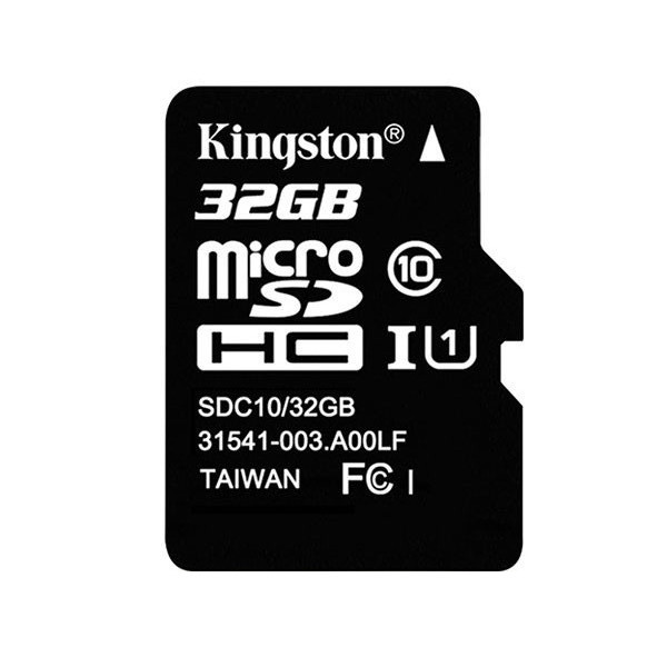 Kingston Micro SD 32G minneskort Class 10
