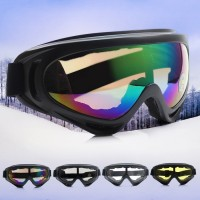 Fräcka skyddsglasögon som passar för exempelvis utförsåkning, snöskoter och motocross.