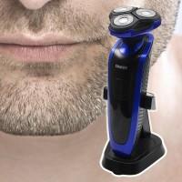 Tällä laadukkaalla parranajokoneella ajo on pehmeää ja nopeaa. Gyroflex-3D -järjestelmän ansiosta partakone myötäilee kasvojesi muotoja ja vähentää painetta sekä ihon ärsytystä. Laite on myös vesipestävä, kätevää!