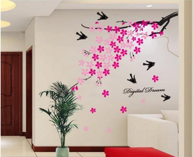 Sakura kirsikkapuu -seinätarra