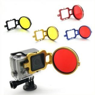 GoPro käännettävä suodin -adapteri 58mm - Keltainen
