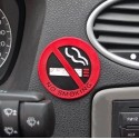 No smoking sign   Rubber sticker