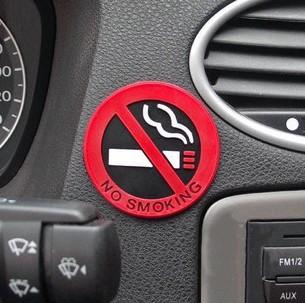 No Smoking 3D-sticker