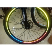 Reflective Wheel Sticker  Heijastintarra renkaille