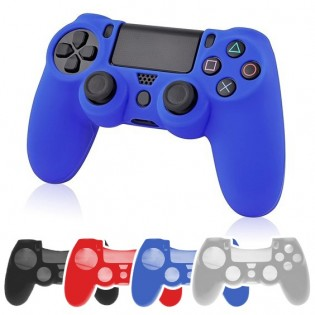 PS4 ohjaimen silikonisuoja - Musta