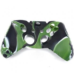 Xbox One ohjaimen silikonisuoja maastovärillä - Sininen + Musta