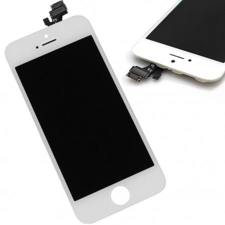 iPhone 5/5S LCD-näyttö ja kosketuspaneeli - Musta, iPhone 5