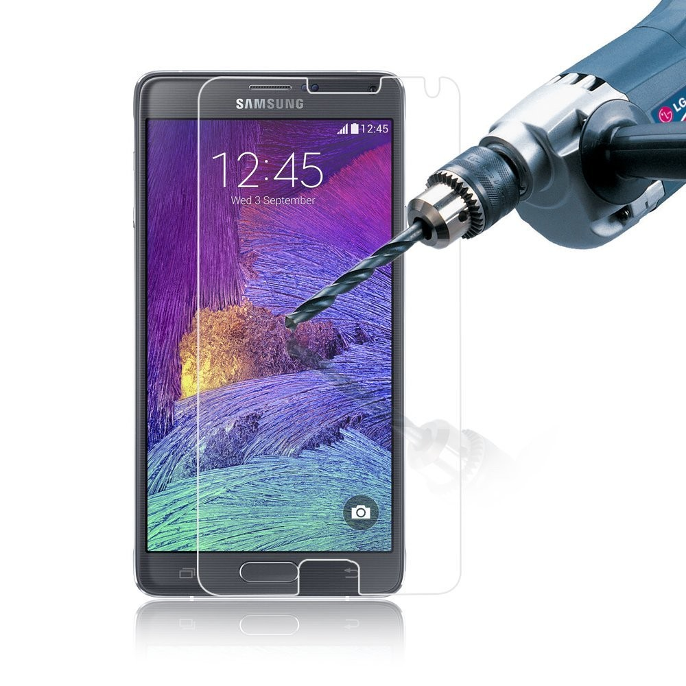 Samsung Note 4 skärmskydd av härdat glas