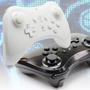 Wii U Pro -langaton ohjain - Valkoinen