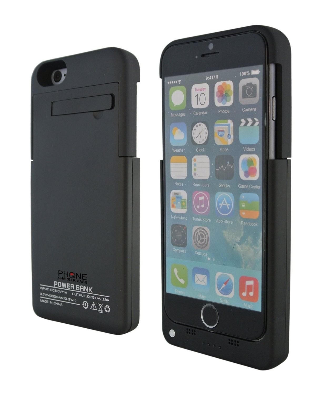 iPhone 6 akku-suojakuori 4000mAh