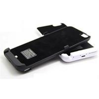 Laddningsbart batteribakstycke för iPhone 6+. Med detta tillbehör, behöver du inte oroa dig för att batteriet tar slut under dagen.
