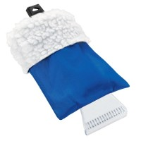 Suverän fönsterskrapa med handske.