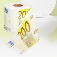 Käytätkö 500 euron seteleitä hanurin pyyhkimiseen vai onko vara pelkästään 20 euron rullaan? Tilaa samalla monta eriarvoista rullaa ja vaihda taloudellisen tilanteen mukaan, millä jäljet pyyhitään. Lue hauskat tuotearvostelut niin tiedät, miten muilla pyyhkii.