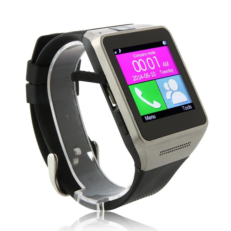 Android Smartwatch -smartklocka och telefon i ett