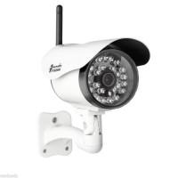 Tämä säänkestävä langaton IP -valvontakamera tuo turvallisuutta kotiisi tai toimitiloihisi. Pystyt valvomaan liikennettä suuremmallakin tontilla myös yöaikaan. Kameran asennus on helppoa ja WLANin ansiosta sinun ei tarvitse sotkea johtojen kanssa!